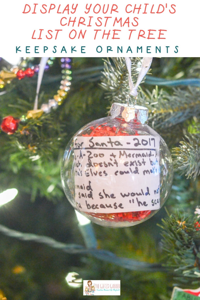 Christmas Wish List 2019.Make A Santa Wish List Ornament For Christmas 2019 The