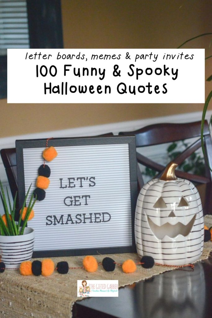 100 Funny Halloween Captions in 2019 , The Gifted Gabber