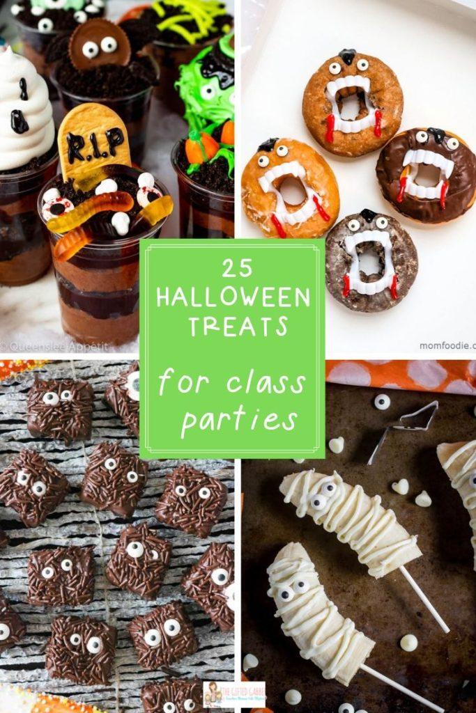 Halloween Classroom Treats 25 Party Treat Ideas In 2019
