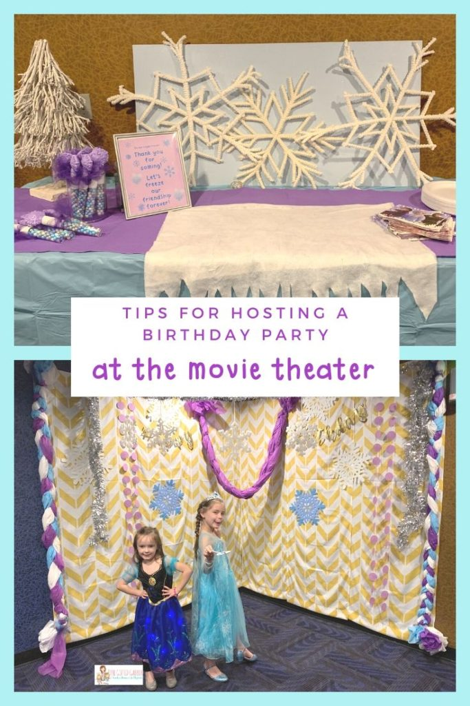 Planning A Movie Theater Birthday Party The Gifted Gabber