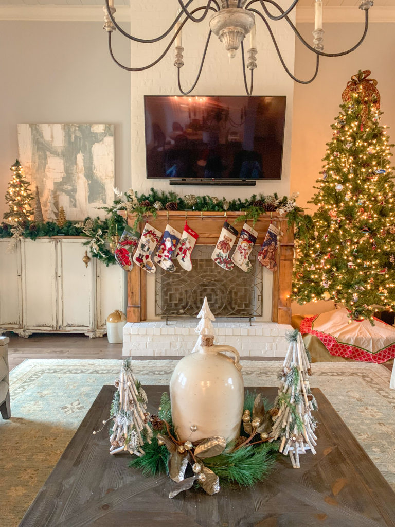 Modern Farmhouse Christmas Home Tour 2020 The Gifted Gabber