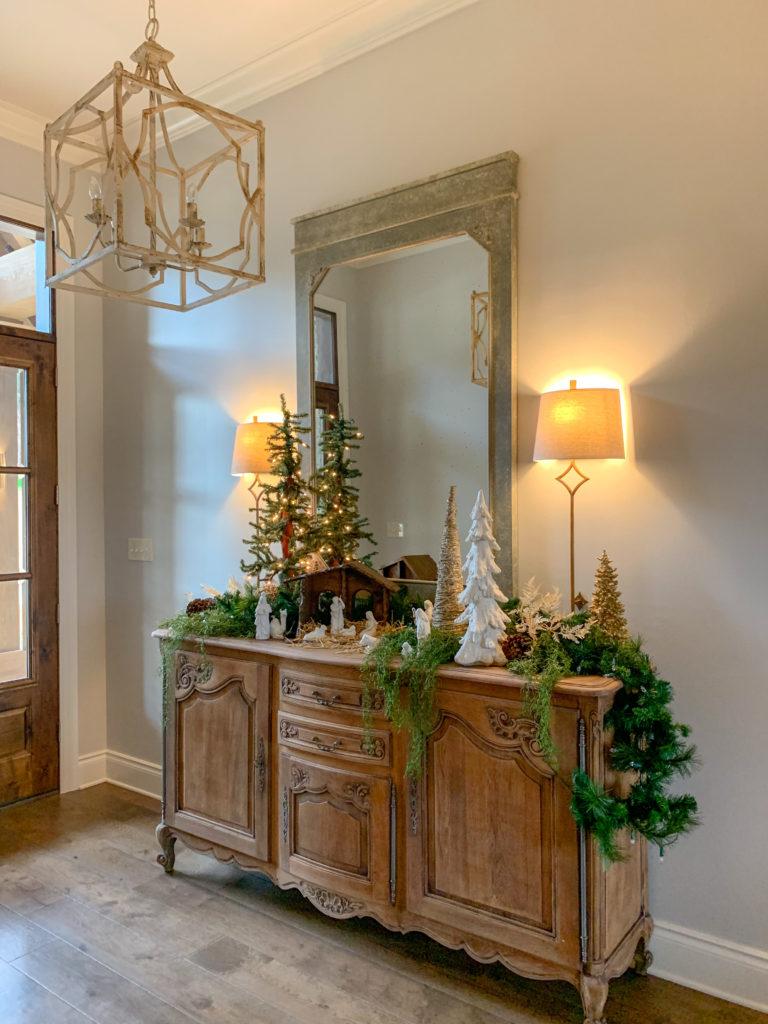 Modern Farmhouse Christmas Home Tour 2020 The Gifted Gabber